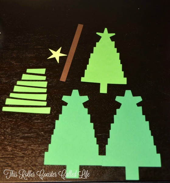 Christmas Tree pieces