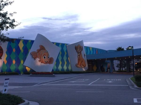Disney Art of Animation Entry