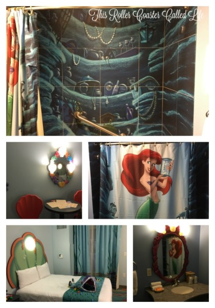 Little Mermaid Room at Disney Art of Animation Resort