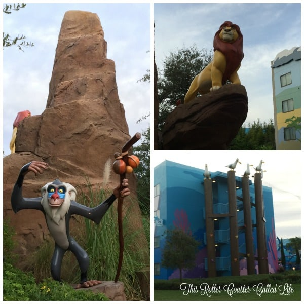 Outdoor Spaces at Disney Art of Animation Resort 2