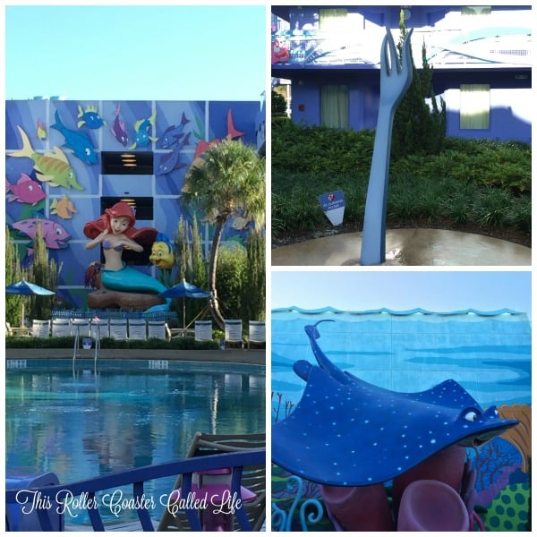 Outdoor Spaces at Disney Art of Animation Resort 3