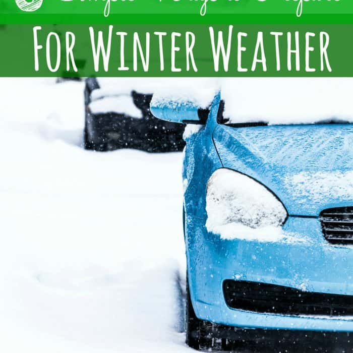 6 Simple Ways to Prepare for Winter Weather