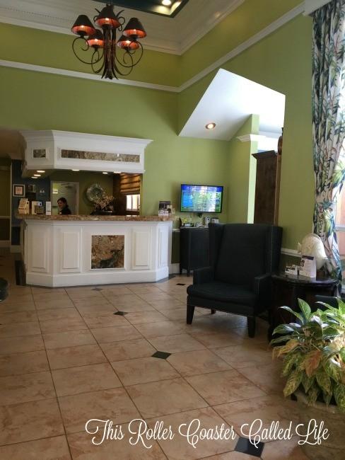 Best Western Premier Saratoga Resort Villas Lobby
