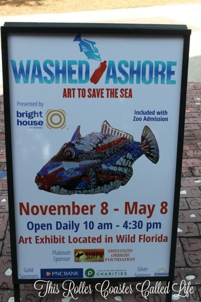 Brevard Zoo Washed Ashore Dates
