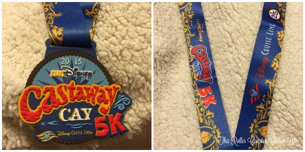 Castaway Cay 5K Medal