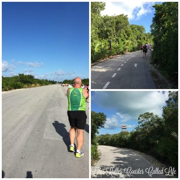 Castaway Cay 5K View