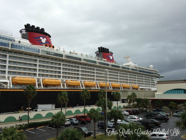 Disney Dream at Port Canaveral