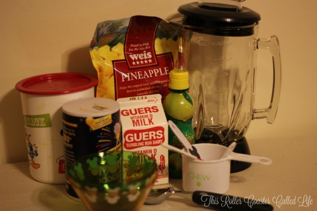 Frozen Pineapple Whip aka Dole Whip Ingredients