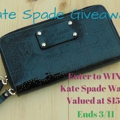Win a Kate Spade Wallet!