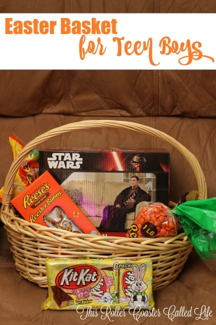 Building an Easter Basket for Teen Boys