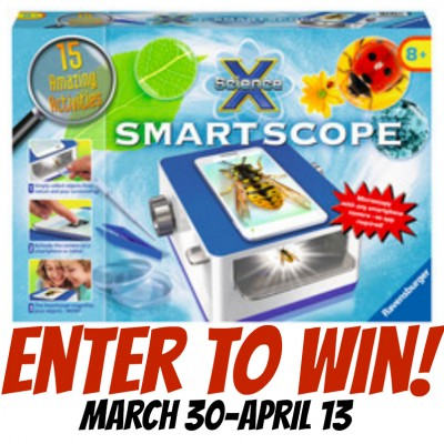 Enter to win a Ravensburger Smartscope!