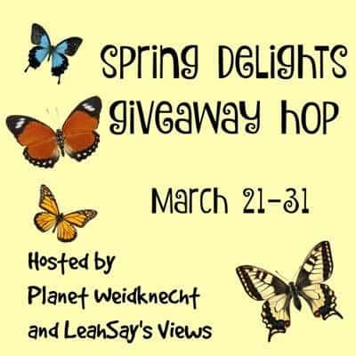Spring Delights Giveaway Hop