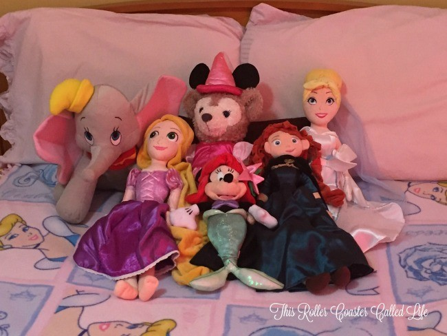 Disney Stuffed Characters