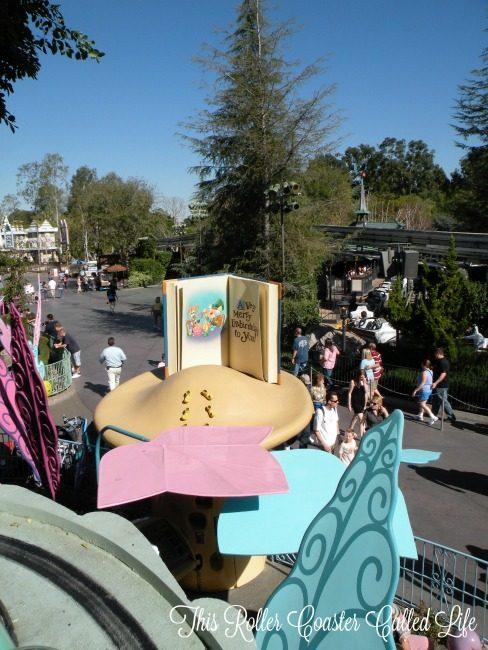 Alice at Disneyland