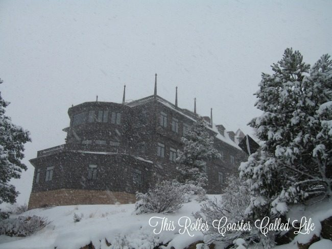 Grand Canyon El Tovar in the Snow