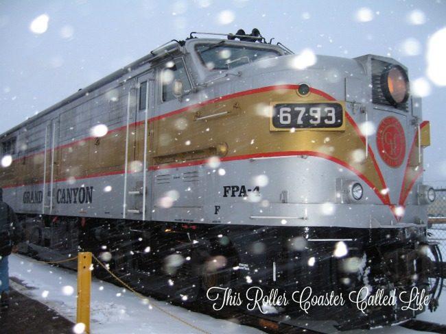 Grand Canyon Railway Engine