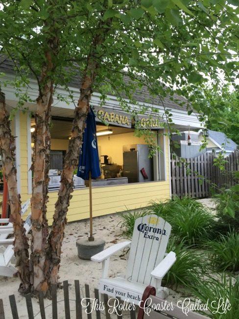 Hersheypark Cabanas Cabana Grill