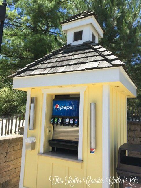 Hersheypark Cabanas Drink Station