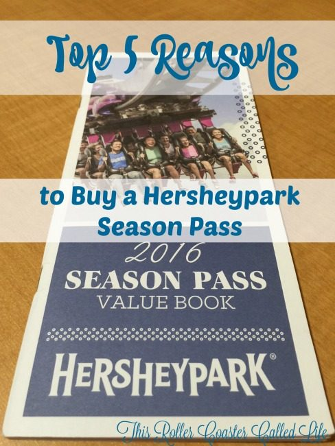Hersheypark Season Pass Book