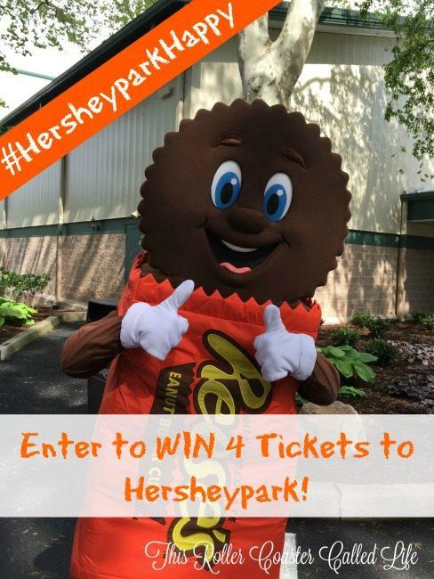 Hersheypark Ticket Giveaway