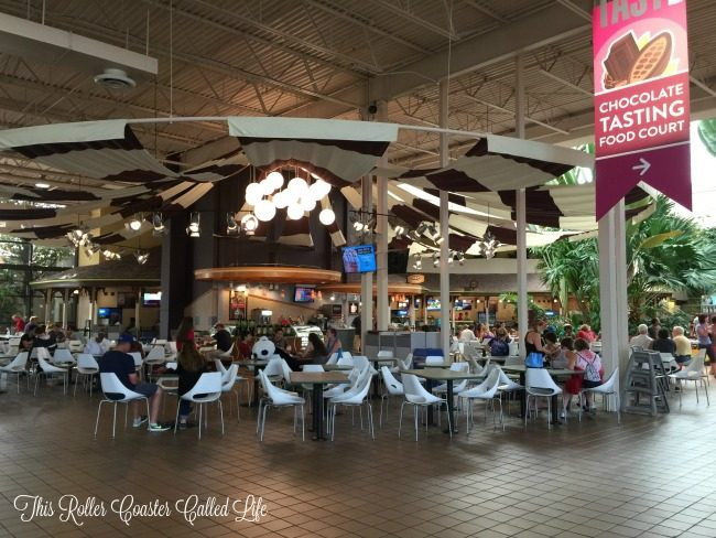 Chocolate World Food Court