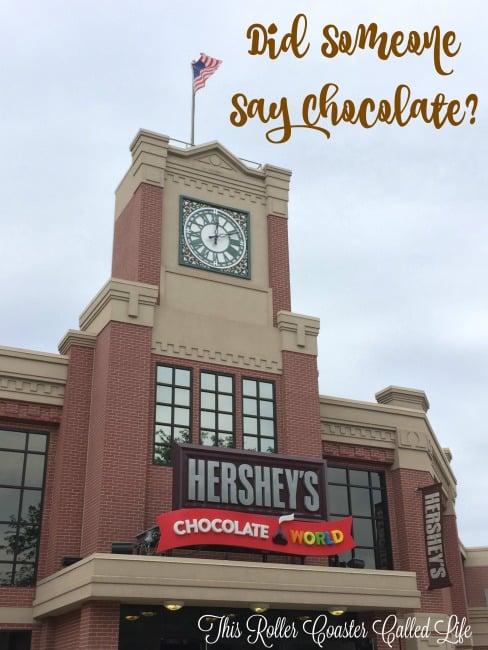 Chocolate World – Did Someone Say Chocolate?