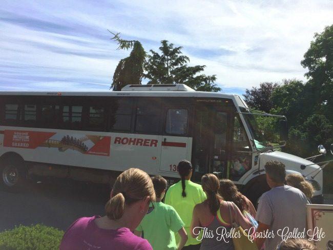 Hersheypark Bus