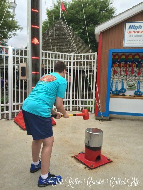 Hersheypark Carnival Games