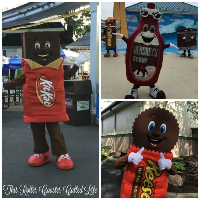 Hersheypark Characters