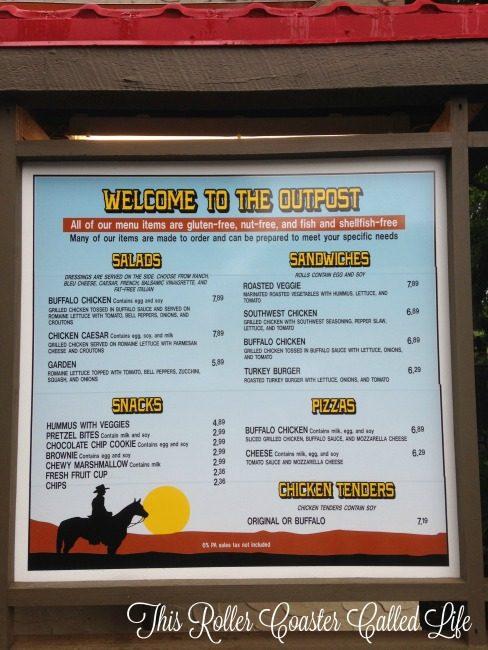 Hersheypark Gluten Free