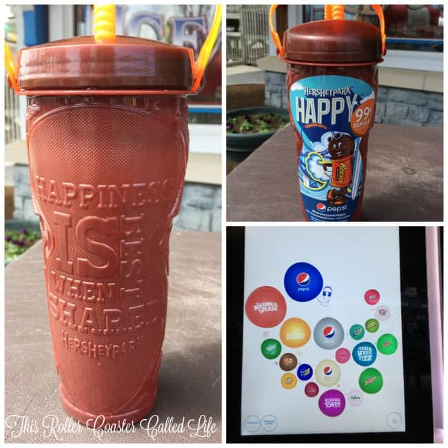 Hersheypark Refillable Drink Cup