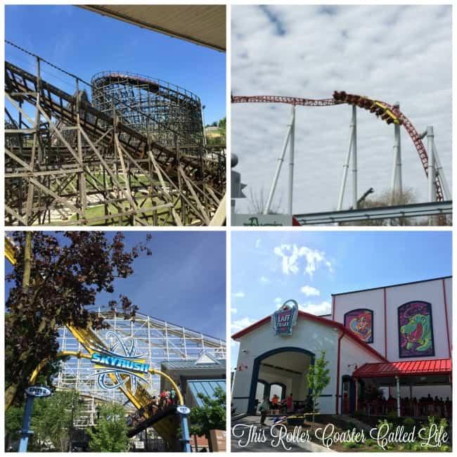 Hersheypark Roller Coaster