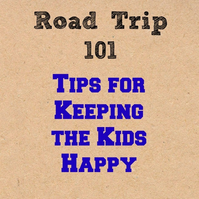 Tips for Keeping Kids Happy on a Road Trip