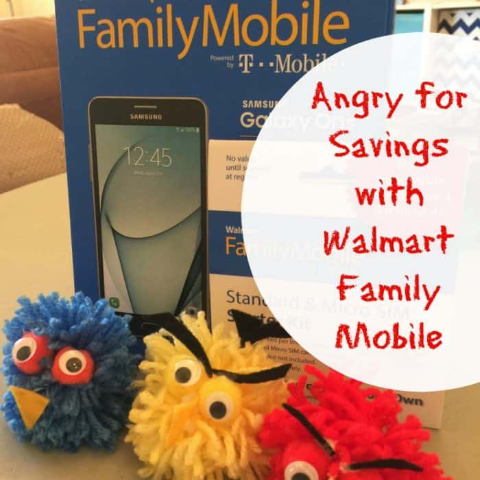Angry for Savings with Walmart Family Mobile