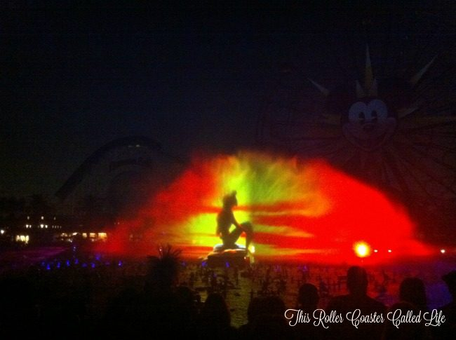Little Mermaid World of Color