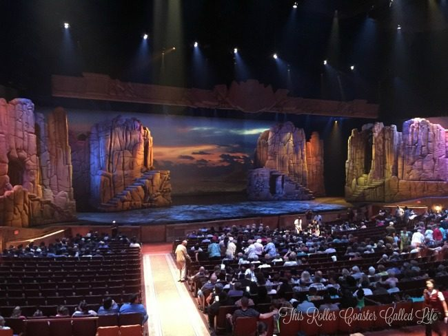 Sight and Sound Theatre Stage