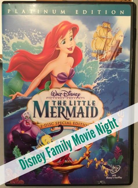 Disney Movie Night – The Little Mermaid