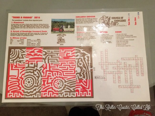 Cherry Crest Adventure Farm Corn Maze Souvenir