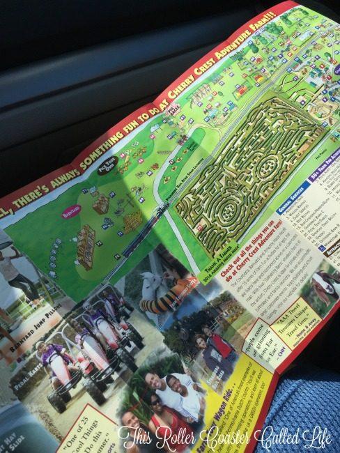 Cherry Crest Adventure Farm Map