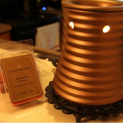 Crafters and Co Weathered Bronze Flair Fragrance Warmer