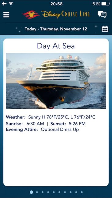 DCL Day at Sea