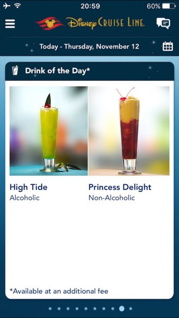 DCL Drink of the Day