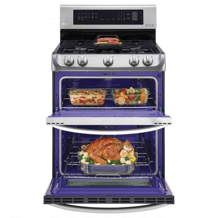 Prepare for the Holidays LG ProBake Double Oven @BestBuy @LGUS #ad