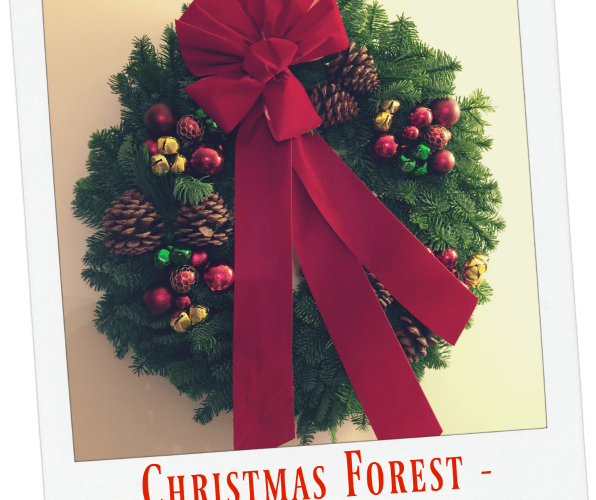 Jingle Bells Wreath from Christmas Forest