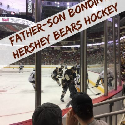 Father-Son Bonding at Hershey Bears Hockey