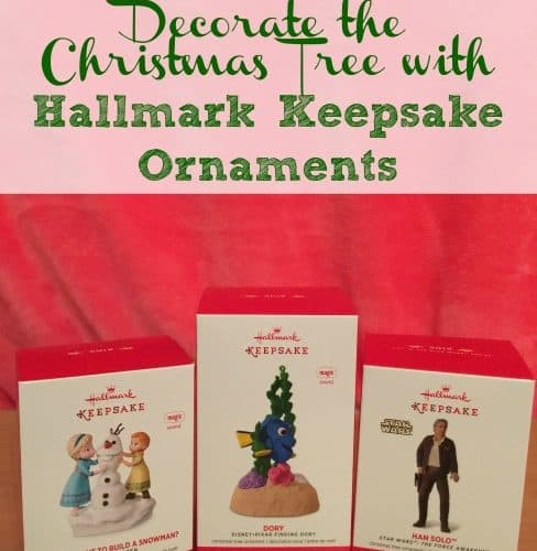 Decorate the Christmas Tree with Hallmark Keepsake Ornaments