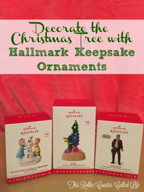 Decorate the Christmas Tree with Hallmark Keepsake Ornaments