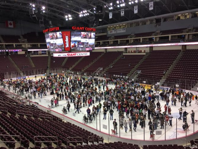 Photo used with permission from the Hershey Bears.