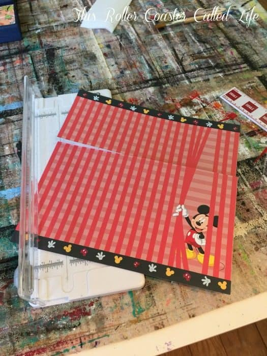 cutting-paper-for-disney-countdown-calendar