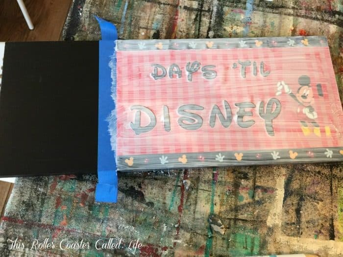 disney-countdown-calendar-covered-with-mod-podge